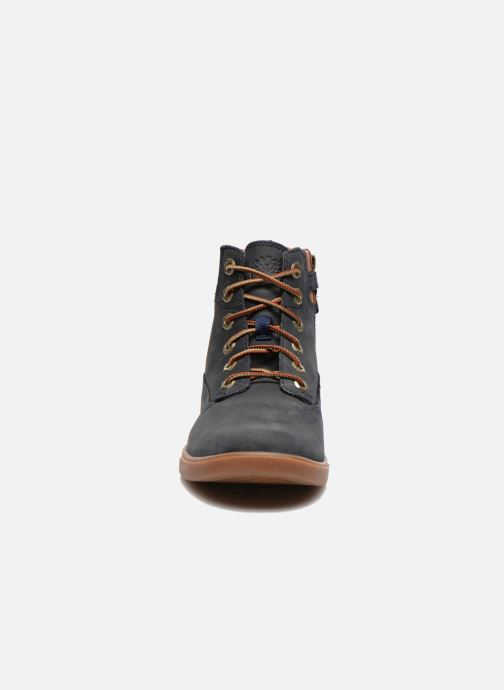 Baskets Timberland Groveton 6In Lace with si Bleu vue portées chaussures