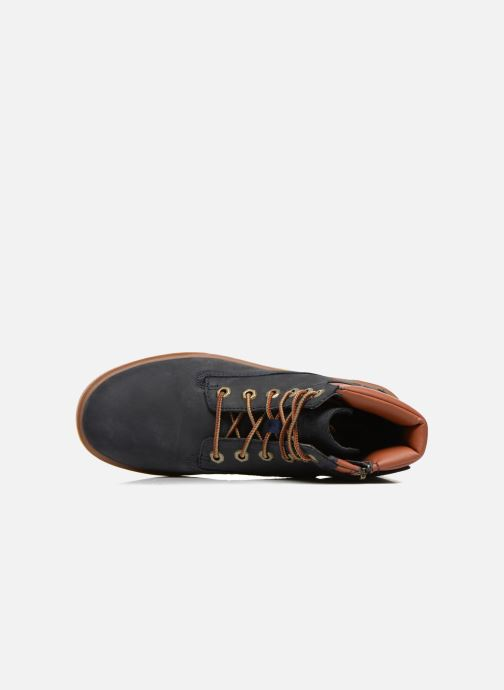 Sneakers Timberland Groveton 6In Lace with si Azzurro immagine sinistra