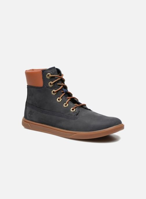 Baskets Timberland Groveton 6In Lace with si Bleu vue détail/paire