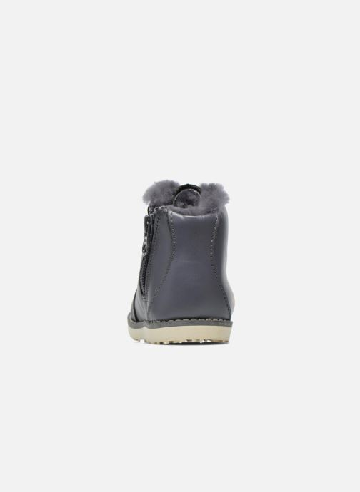 Ankle boots Akid Jasper Grey view from the right