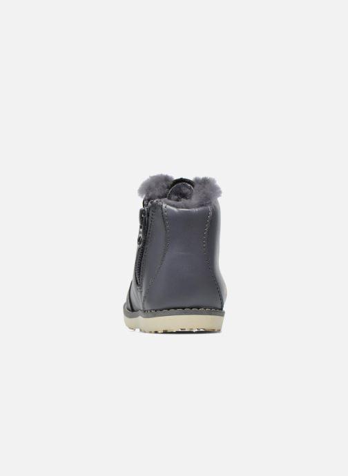 Bottines et boots Akid Jasper Gris vue droite
