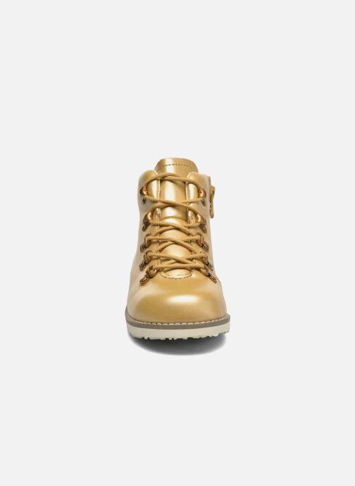 Bottines et boots Akid Jasper Or et bronze vue portées chaussures
