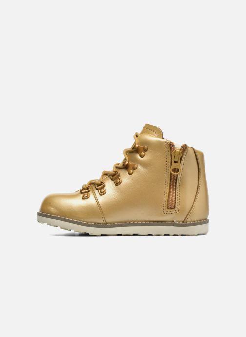 Bottines et boots Akid Jasper Or et bronze vue face