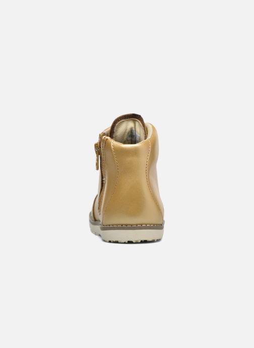 Bottines et boots Akid Jasper Or et bronze vue droite