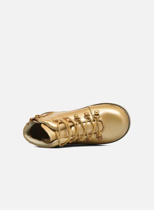 Bottines et boots Akid Jasper Or et bronze vue gauche