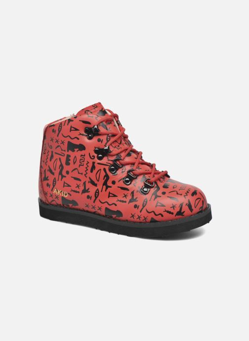 Ankle boots Akid Jasper Red detailed view/ Pair view