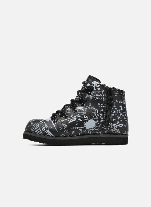 Boots en enkellaarsjes Akid Jasper Zwart voorkant