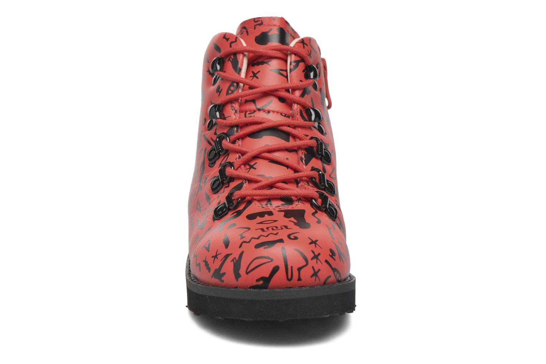 Bottines et boots Akid Jasper Rouge vue portées chaussures