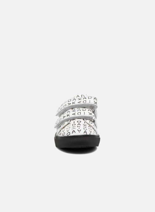 Baskets Akid Axel Blanc vue portées chaussures