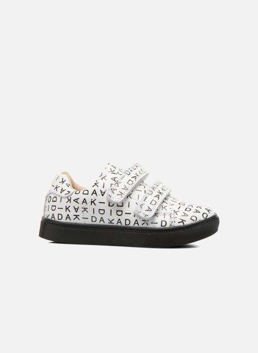 Sneakers Akid Axel Wit achterkant
