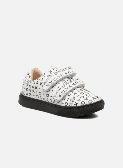 Trainers Akid Axel White detailed view/ Pair view