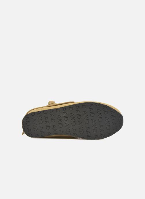 Sneaker Akid Stone beige ansicht von oben