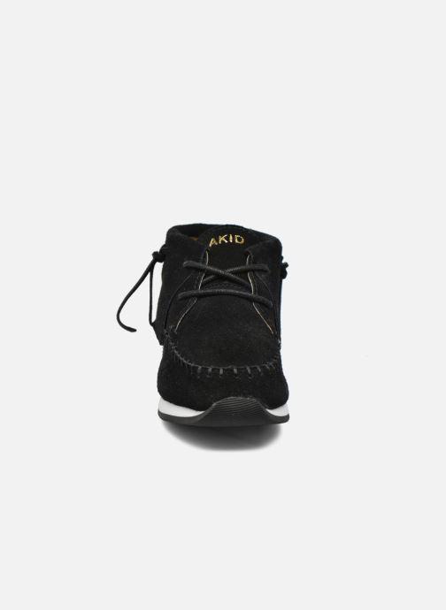 Baskets Akid Stone Noir vue portées chaussures