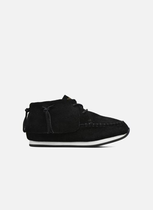 Sneaker Akid Stone schwarz ansicht von hinten