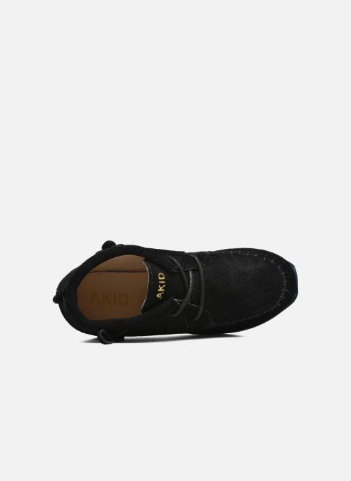 Sneakers Akid Stone Nero immagine sinistra