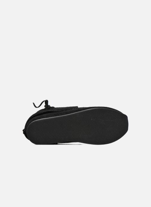 Sneaker Akid Stone schwarz ansicht von oben