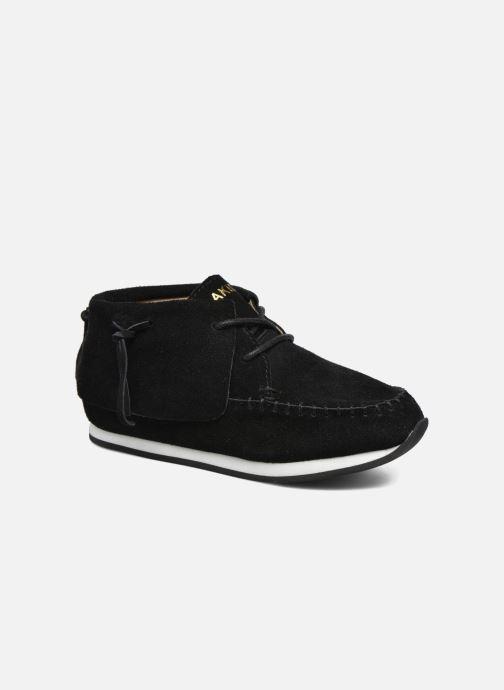 Sneakers Akid Stone Zwart detail