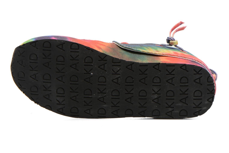 Baskets Akid Stone Multicolore vue haut