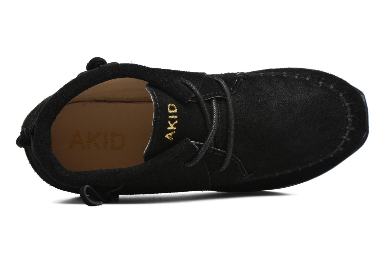 Baskets Akid Stone Noir vue gauche