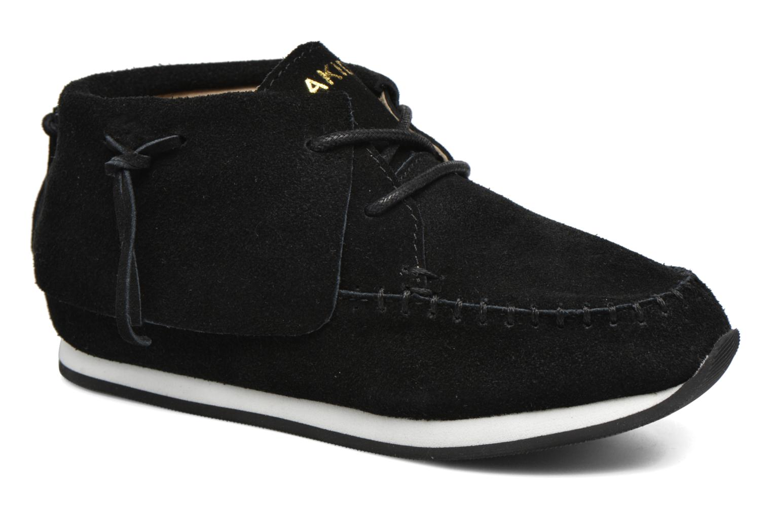 Trainers Akid Stone Black detailed view/ Pair view