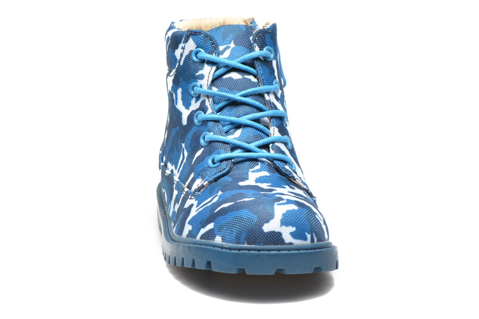Ankle boots Akid Atticus Blue model view