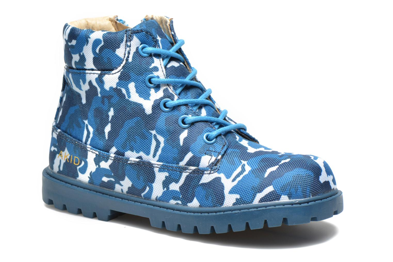 Ankle boots Akid Atticus Blue detailed view/ Pair view
