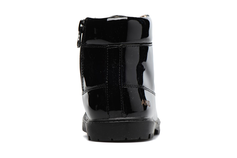 Bottines et boots Akid Atticus Noir vue droite