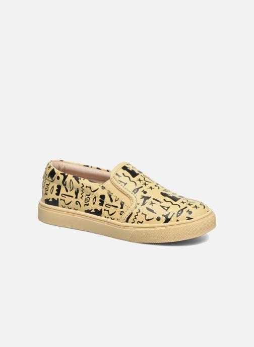 Sneakers Akid Liv Beige detail