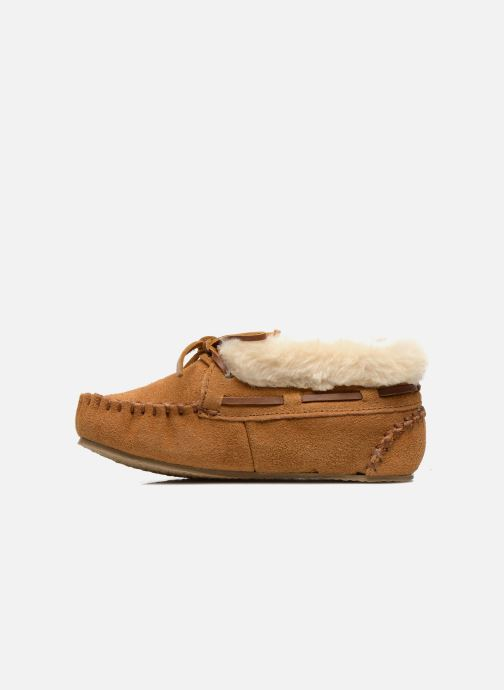 Boots en enkellaarsjes Minnetonka Charley Beige voorkant