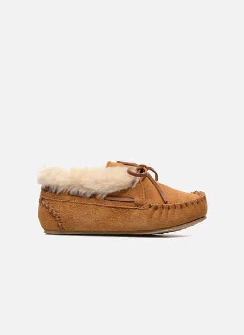 Boots en enkellaarsjes Minnetonka Charley Beige achterkant