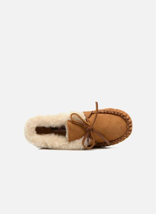 Boots en enkellaarsjes Minnetonka Charley Beige links