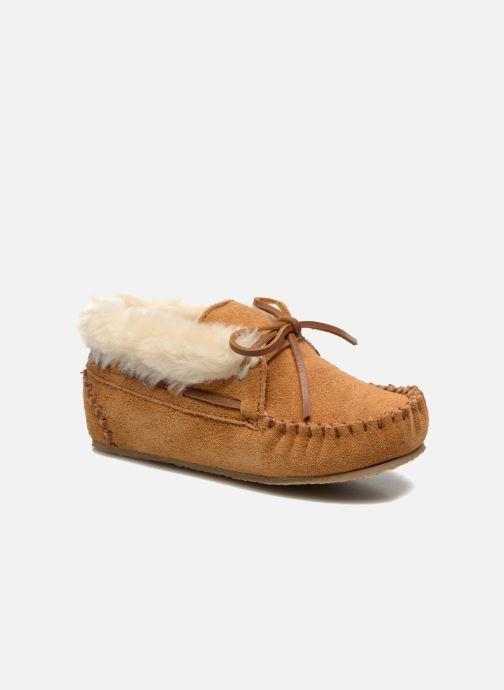 Boots en enkellaarsjes Minnetonka Charley Beige detail