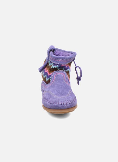 Ankle boots Minnetonka Aspen Boot Purple model view