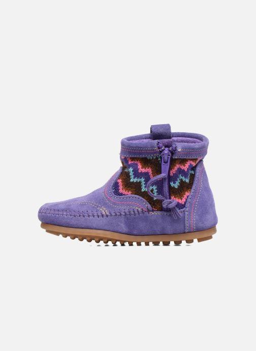 Ankle boots Minnetonka Aspen Boot Purple front view