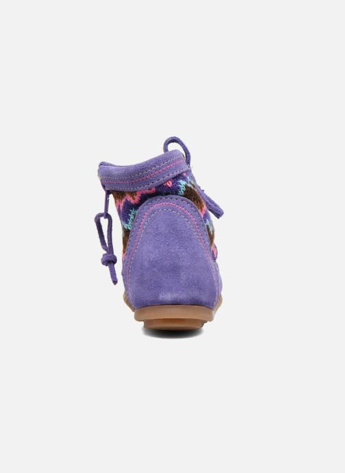 Ankle boots Minnetonka Aspen Boot Purple view from the right