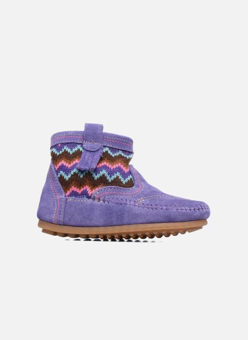 Boots en enkellaarsjes Minnetonka Aspen Boot Paars achterkant