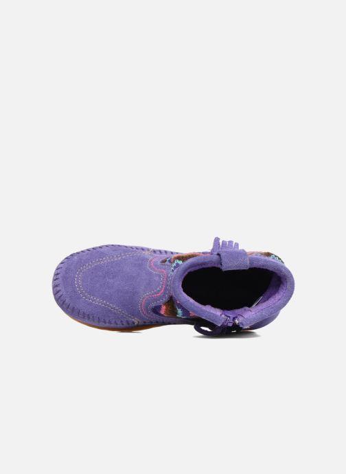 Boots en enkellaarsjes Minnetonka Aspen Boot Paars links