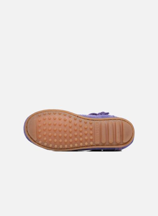 Boots en enkellaarsjes Minnetonka Aspen Boot Paars boven