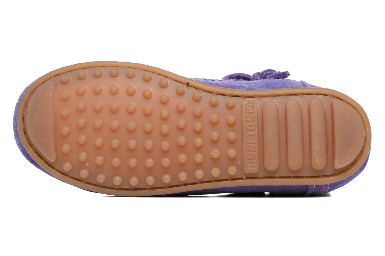 Stiefeletten & Boots Minnetonka Aspen Boot lila ansicht von oben
