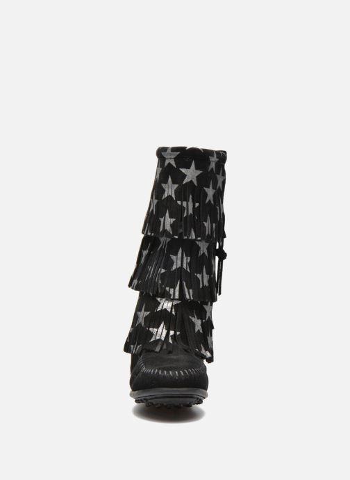 Laarzen Minnetonka Star 3 Layer Zwart model