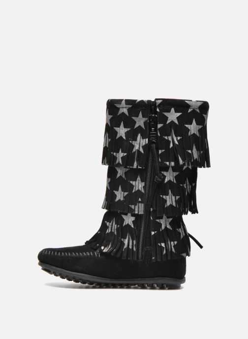 Boots & wellies Minnetonka Star 3 Layer Black front view