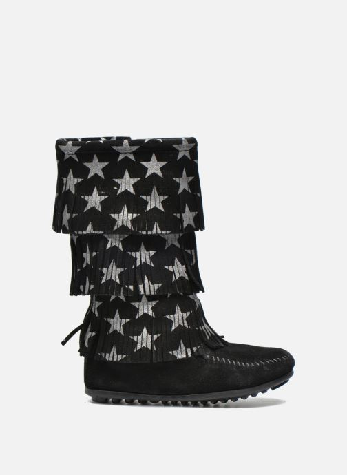 Boots & wellies Minnetonka Star 3 Layer Black back view