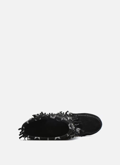 Laarzen Minnetonka Star 3 Layer Zwart links