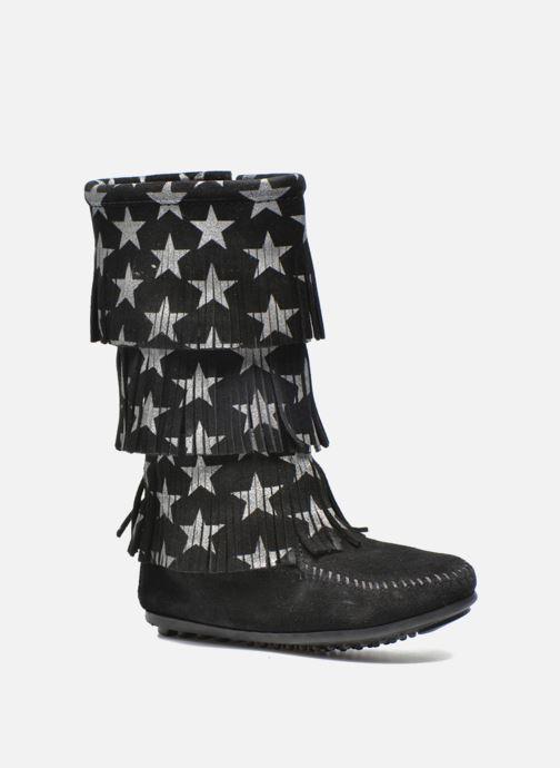 Laarzen Minnetonka Star 3 Layer Zwart detail