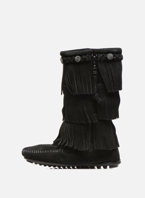 Botas Minnetonka 3-Layer Negro vista de frente