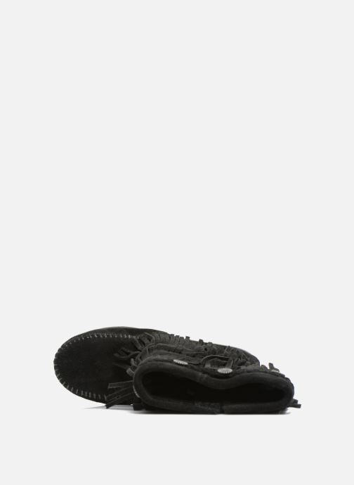 Stiefel Minnetonka 3-Layer schwarz ansicht von links
