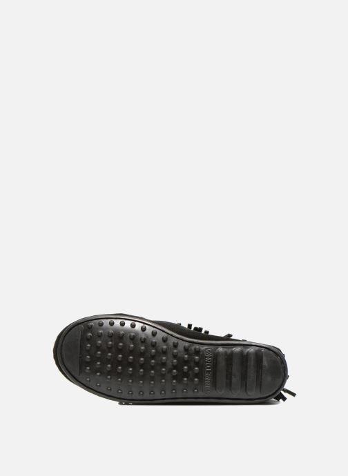 Stiefel Minnetonka 3-Layer schwarz ansicht von oben