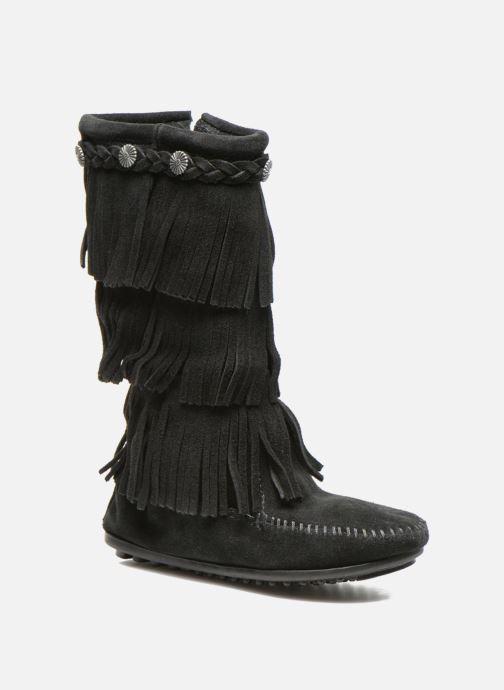 Stiefel Minnetonka 3-Layer schwarz detaillierte ansicht/modell