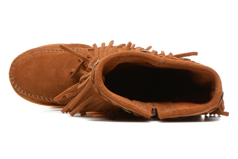 Stiefel Minnetonka 3-Layer braun ansicht von links