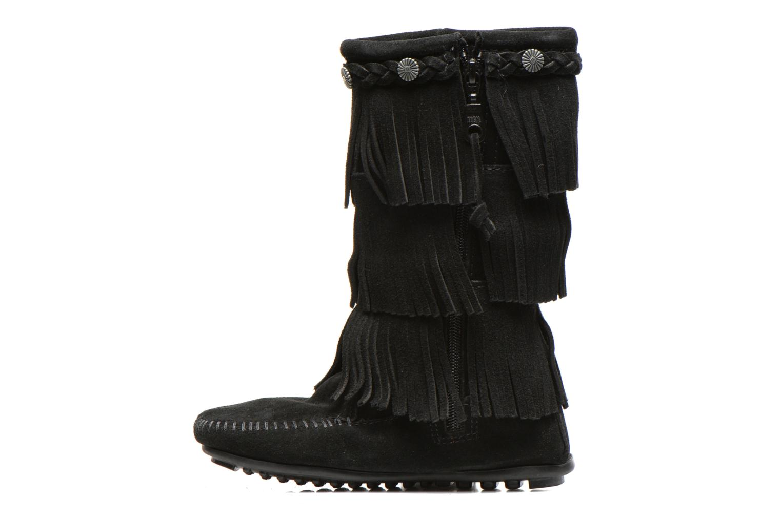 Boots & wellies Minnetonka 3-Layer Black front view